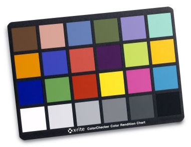 X-Rite Color Checker Chart