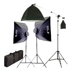 Custom Lighting Equipment Setup