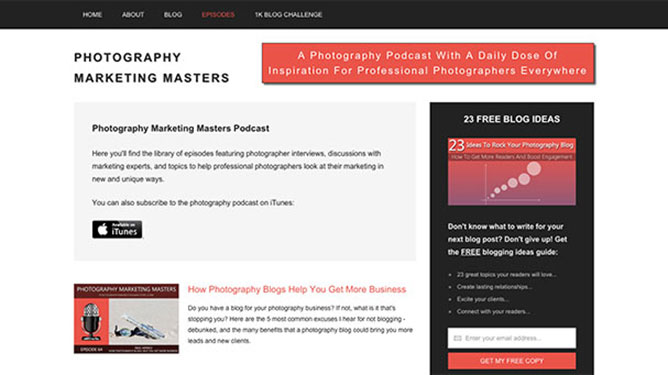 Photography Marketing Masters - Nigel Merrick