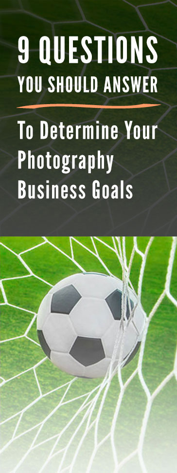 Photography Business Goals