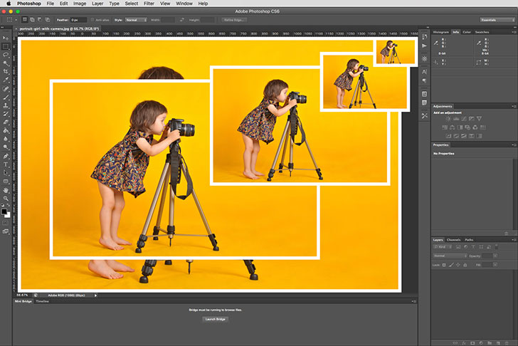 how to save multiple images as one pdf in photoshop