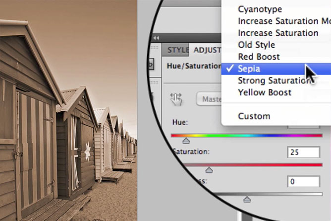 How To Desaturate Color Images