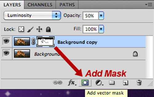 Add Vector Layer Mask