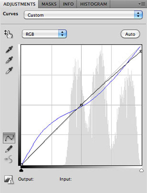 New Adjustment Layer - Curves